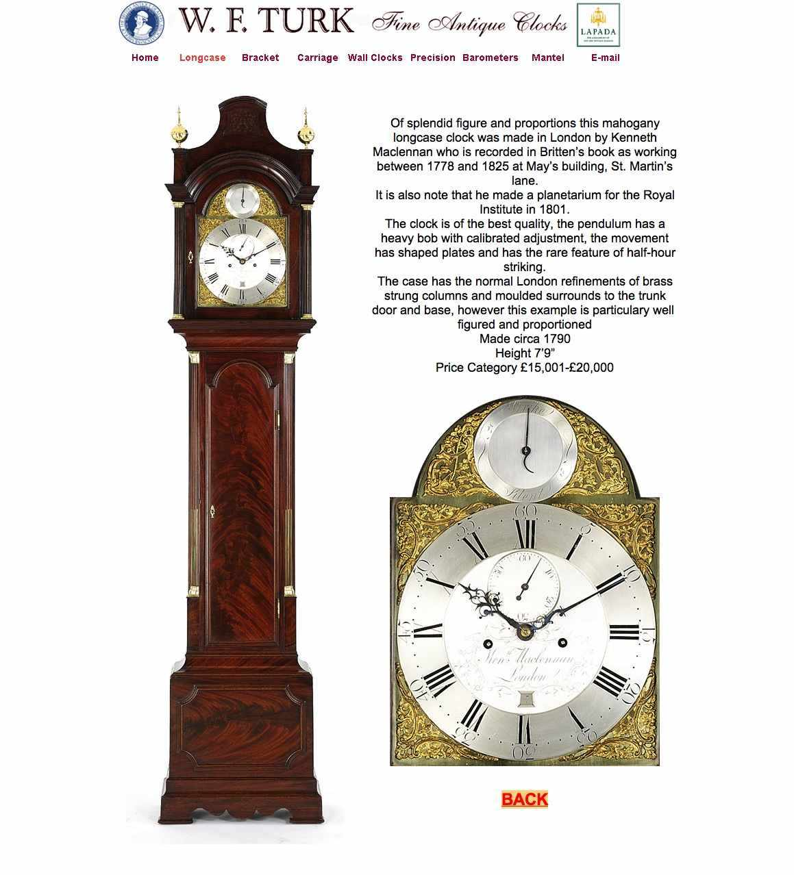 dating antique clocks Name, very fine carriage clock in an engraved gorge case origin/country, france dated, circa 1870 dimensions, 525 inch high ( 1333 cm high.